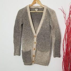 Wilfred | Wool Blend Knit Cardigan Sweater Size XS